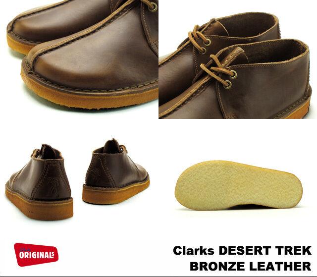 Clarks Originals Uomini  Desert Trek    BRONZO MarroneeeE LEA  G 76672c