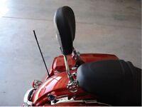 Detachable Backrest Sissy Bar For Harley Touring 2009 Up