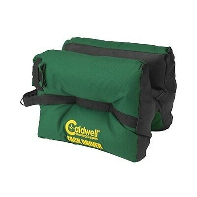 CALDWELL unfilled Tack Driver shooting bag gun rest 191743 empty rifle green