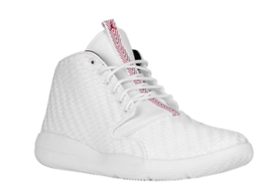 e5e28607eefe9e NIKE JORDAN ECLIPSE CHUKKA MENS SHOES WHITE  RED  BLACK 881453 101 ...