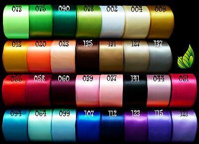 2,5m Satinband 50mm 0,796€//m Schleifenband Hochzeit Deko Band Geschenkband 5cm