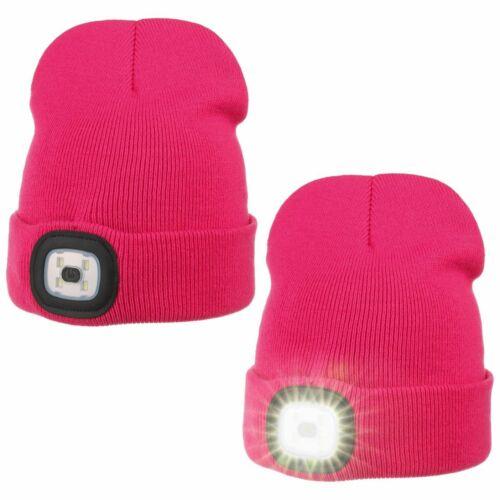 Sterntaler Kids Knit Beanie with Double LED Winter hats kids beanie Beanies