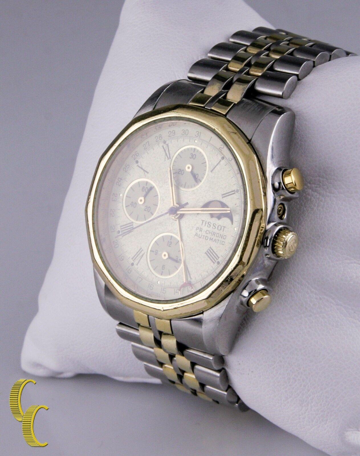 cabb98083c2 Tissot Pr100 Le Locle C451 Automatic Chronograph Moonphase Valjoux ...