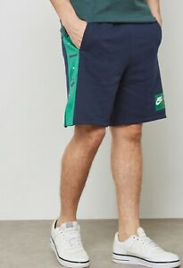 Men-s-Nike-Air-Sportswear-Fleece-Shorts-886052-452-S-M-L
