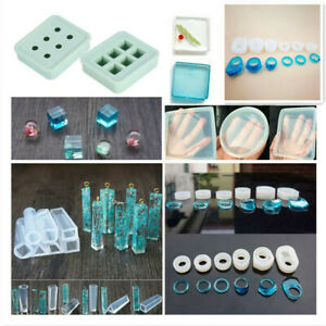 """Silicone Round Dia 1/"""" Molds DIY Pendant Resin Mould Pendant Jewelry Craft Tools"""