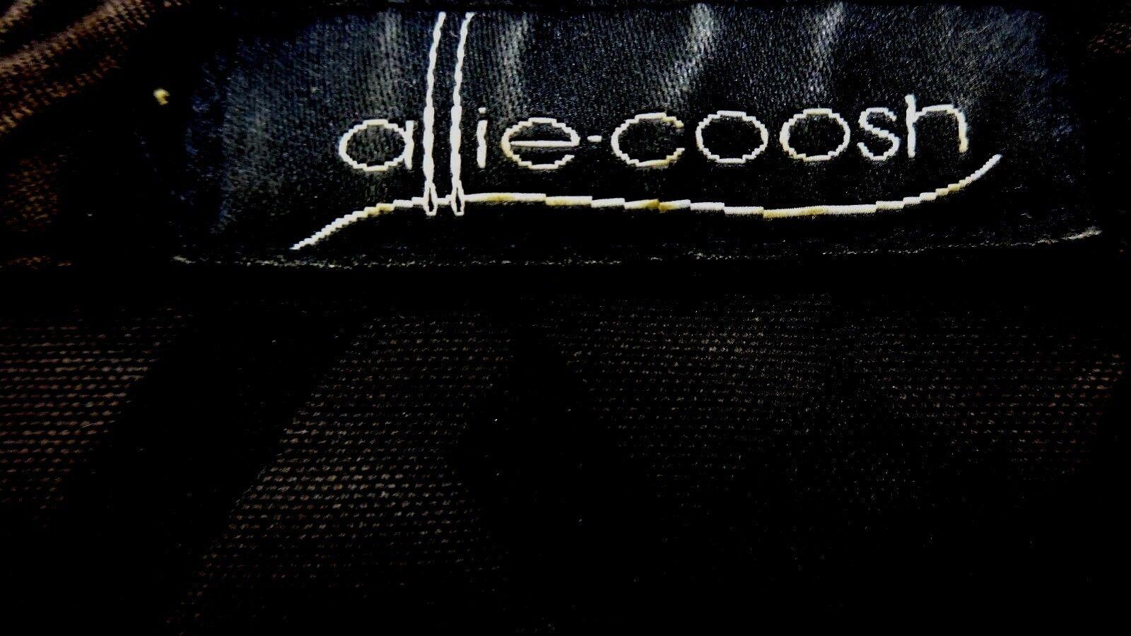 Allie Coosh Coosh Coosh Dallas Designer FEMMES Noir Mélange de Coton Veste TAILLE M 132b8f