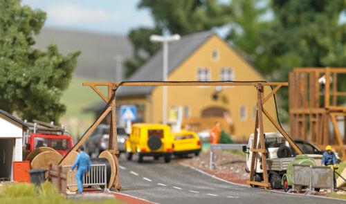 Busch 1375 Câble Pont Avec Accessoires Kit HO 1:87 NEUF