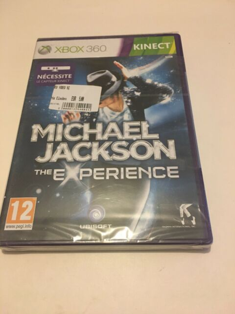 🤩 xbox 360 neuf blister  officiel pal fr michael jackson the experience jeu