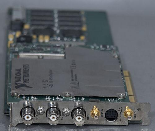 NI Labview PCI 5122 100 MS//s,14-Bit Oscilloscope//Digitizer NATIONAL INSTRUMENTS