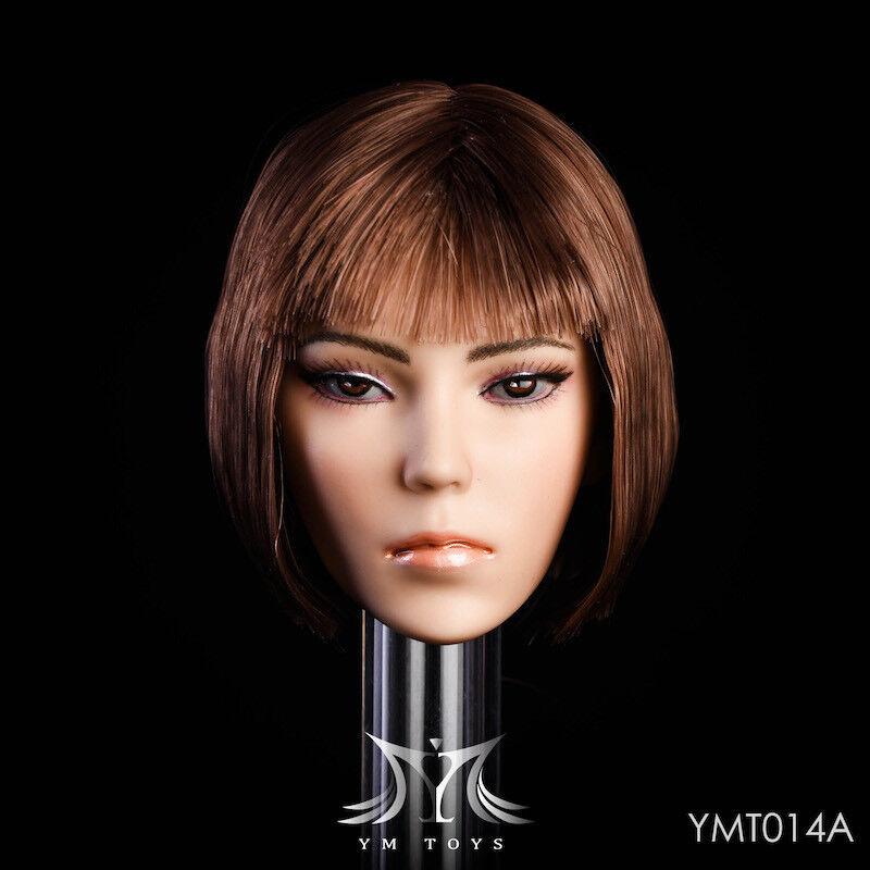 YMTOYS 1 6 YMT014A Head Carving Head Model F F F 12 Female Figure Doll d46ec1