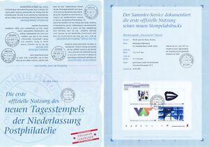 BRD-1997-Documenta-Erinnerungsblatt-mit-Block-Nummer-39-Sonderstempel