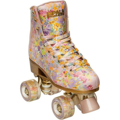 Impala WomensCynthia Rowley // Floral Size: 7 Quad Roller SkatesVegan