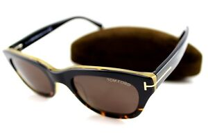 92f4028951 NEW James Bond 007 TOM FORD Snowdon Havana Sunglasses TF 237 FT 0237 ...