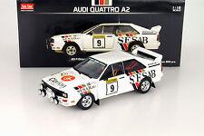AUDI Quattro a2 #9 1000 Lakes Rally 1983 Eklund/Spjuth 1:18 SUNSTAR