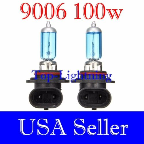 9006-HB4 Bright White Xenon Halogen 5000K Headlight 2x Light Bulb #xa2 Low Beam