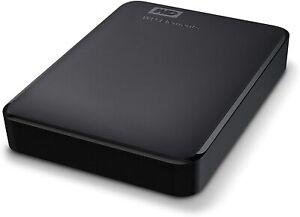 WD 4TB disco esterne portatili Elements DRIVE-USB 3.0