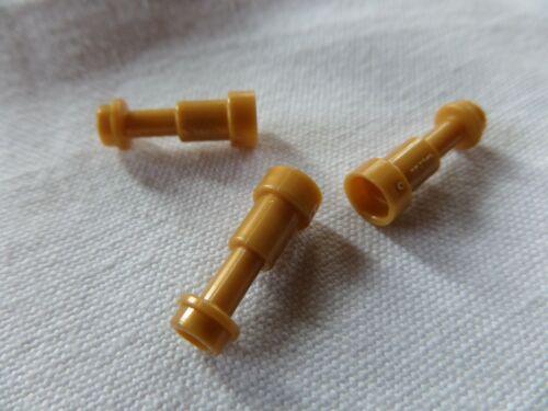 3x Lego 64644 Teleskop Fernglas Fernrohr Holzbein gebraucht pearl gold 4538126