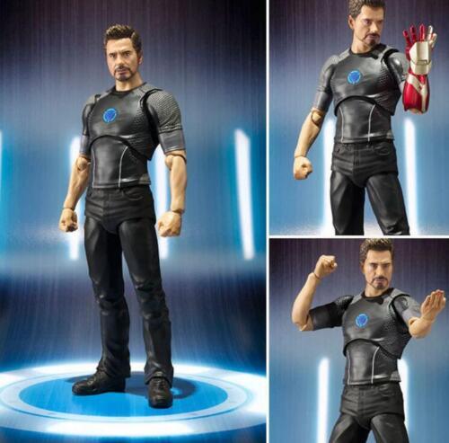 SHF S.H.Figuarts Tony Stark Iron Man 3 Avengers Action Figure Toy