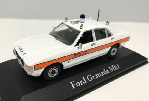 Model Scale 1:43 Atlas Editions FORD GRANADA MkI /'British Police Cars/'