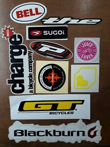 Charge-Bikes-GT-Bell-Blackburn-the-Sugoi-Juice-Lubes-Stickers-Bicycle-Job-Lot