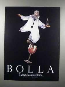 1989 Bolla Wine Ad - Il Vino Classico d'Italia