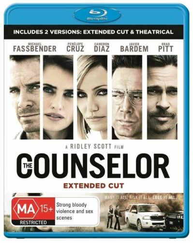 1 of 1 - The Counselor (Blu-ray, 2014)
