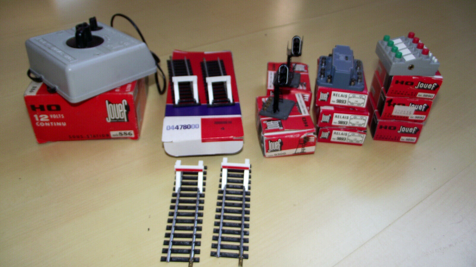 Jouef lot boitiers de commande aihuillages ++++++