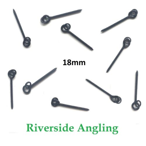 24mm Bait Screw With Round Loop Carp Fishing Rigs End Tackle Pop Ups