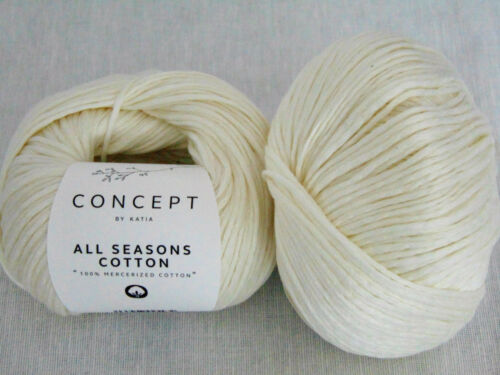 All seasons Cotton-Concept-by Katia 100g//9,98 € 50 G-lana-Garn