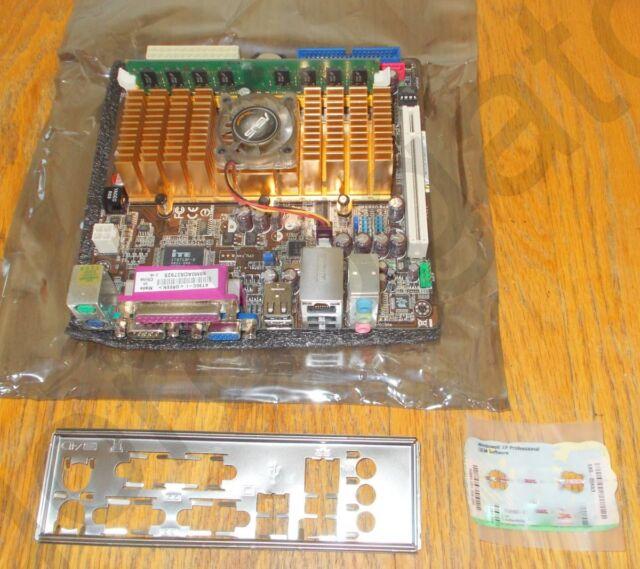 ASUS AT3GC-I Mini-ITX Motherboard, 2GB RAM, Windows XP Pro Key for PARTS/REPAIR