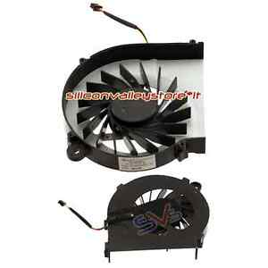 Ventola p PC HP WR318EA n 055417RIS CPU G62 140ES Notebook Fan U4TqUwPnr