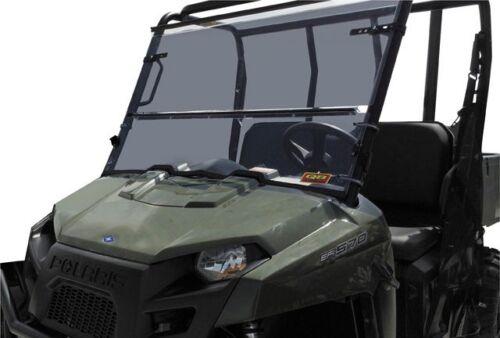 Quadboss Folding Full Front Windshield Polaris FullSize Ranger 700 800 2009-2014