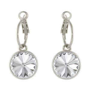 Round-Bella-Hoop-Women-Crystal-Earrings-made-with-Genuine-SWAROVSKI-Crystals