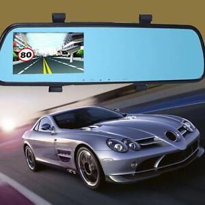 2 4 39 39 360 degree hd 1080p dash cam car camera video recorder dvr rearview mirror ebay. Black Bedroom Furniture Sets. Home Design Ideas