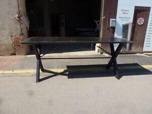 FidèLe Très Grande Table Haute Industrielle Bar à Vin Cave Vignoble Comptoir 105 Cm Le Plus Grand Confort