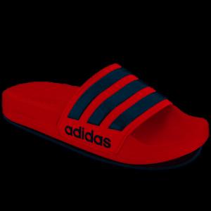 adidas-3-Stripe-Adilette-Shower-Slide-Sandals-AQ1705-Red-white