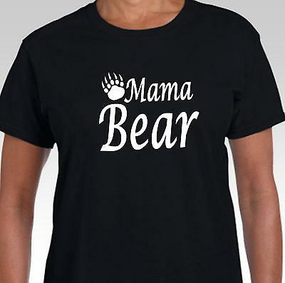 Mama Bear Men's T-Shirt with bear claw. funny gift for Mum, Grandmother, Nanna