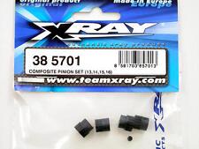 Xray M18 Composite Pinion Set (13,14,15,16) 385701 modellismo