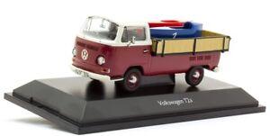 Sch3338 - Utilitaire Volkswagen T2 Pick-up Avec Deux Caisses À Savons Édité 1