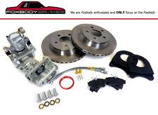 "Ford Mustang 10.5/"" Rear Disc Brake Conversion 79 93 87 Fox body GT SN95 SVT 5.0"