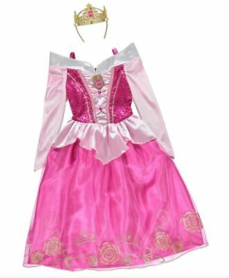 Disney Princess Aurora Sleeping Beauty tutu fancy dress Nightwear 3-4 yrs