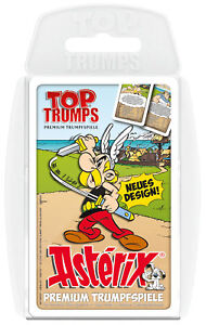 Top-Trumps-Asterix-Spiel-Karten-Quartett-Quartettspiel-Kartenspiel