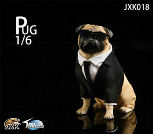 ASTOYS 1//6 2018 AS032 Pug Suit Starling Cigar Dog Scene Props Action Figure Toys