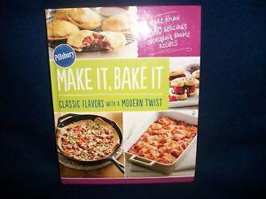 rodale books pillsbury make it bake it hardcover cookbook free
