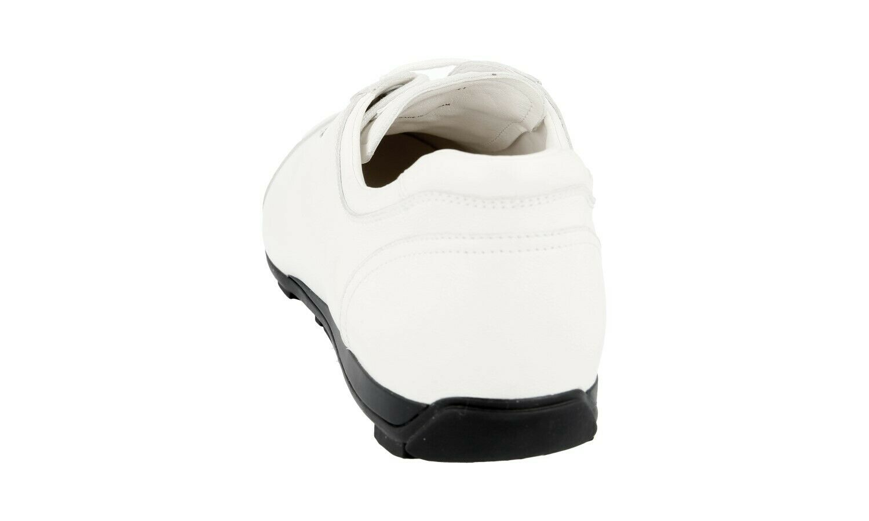 shoes PRADA LUSSO 3E4900 BIANCO NUOVE 41 41,5 41,5 41,5 UK 8 b5bff6