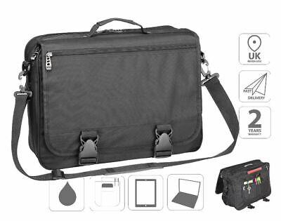 """15.6"""" Valigetta Laptop Messenger Borsa Per Affari Fi2557 + Gratis Borsa Ipad-mostra Il Titolo Originale"""