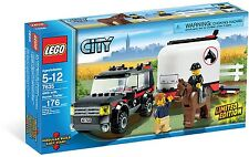 *BRAND NEW* Lego City FARM 4WD WITH HORSE TRAILER 7635
