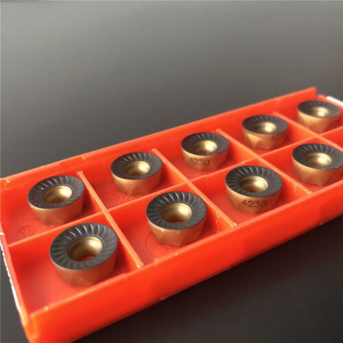 RCKT1204M0-PM 4230 R6 round Milling carbide  inserts carbide bits RCKT1204 10pcs