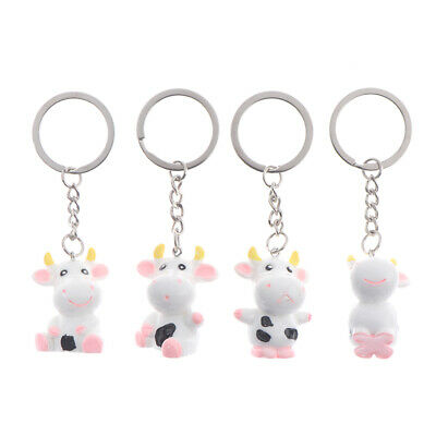 2021 Year of the Cow Keychain Space Cattle Keychain Car Bag Pendant Keyring
