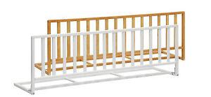 Barriera sponda per letto pino ribaltabile in legno 120cm pieghevole bambini ebay - Sponda letto brevi ...